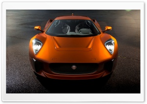 Jaguar C-X75 Concept Sports Car HD Wide Wallpaper for 4K UHD Widescreen desktop & smartphone