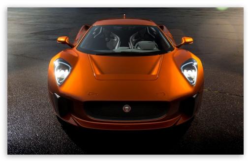 Jaguar C X75 Concept Sports Car Ultra Hd Desktop Background