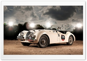Jaguar XK120 Roadster HD Wide Wallpaper for Widescreen