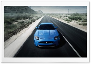 Jaguar XK-R 2012 HD Wide Wallpaper for Widescreen