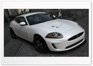 Jaguar XKR HD Wide Wallpaper for Widescreen