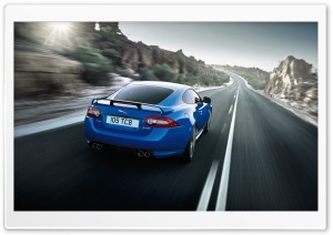 Jaguar XKR S Blue Ultra HD Wallpaper for 4K UHD Widescreen desktop, tablet & smartphone
