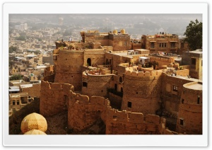 Jaisalmer Fort HD Wide Wallpaper for 4K UHD Widescreen desktop & smartphone