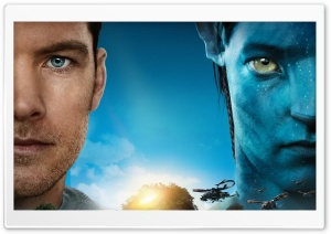 Jake Sully   Avatar Movie HD Wide Wallpaper for Widescreen