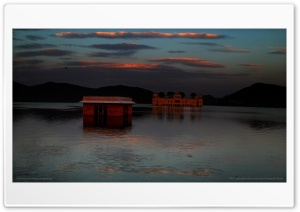 Jal Mahal II HD Wide Wallpaper for 4K UHD Widescreen desktop & smartphone