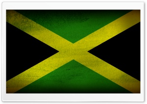 Jamaican Flag HD Wide Wallpaper for 4K UHD Widescreen desktop & smartphone