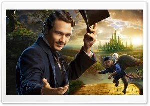 James Franco as Oscar Diggs - Oz the Great and Powerful 2013 Movie HD Wide Wallpaper for 4K UHD Widescreen desktop & smartphone