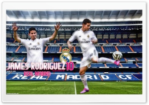 JAMES RODRIGUEZ REAL MADRID HD Wide Wallpaper for Widescreen