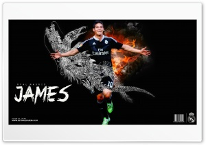 James Rodriguez Real Madrid HD Wide Wallpaper for 4K UHD Widescreen desktop & smartphone