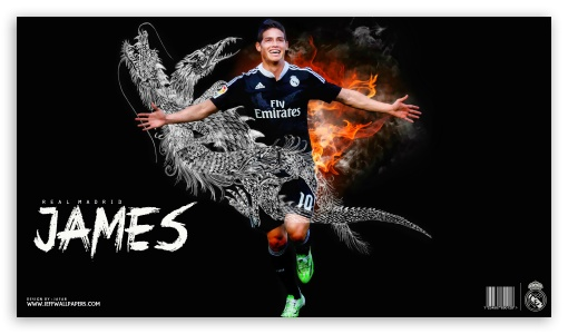 James Rodriguez Real Madrid ❤ 4K UHD Wallpaper for 4K UHD 16:9 Ultra High Definition 2160p 1440p 1080p 900p 720p ; Mobile 16:9 - 2160p 1440p 1080p 900p 720p ;