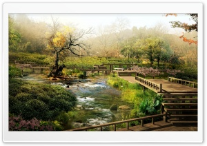 Japan Digital Landscape HD Wide Wallpaper for Widescreen