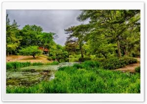 Japan Pond Takamatsu Ritsurin Garden Ultra HD Wallpaper for 4K UHD Widescreen desktop, tablet & smartphone