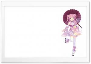 Japanese Anime Girl HD Wide Wallpaper for Widescreen