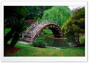 Japanese Bridge HD Wide Wallpaper for Widescreen