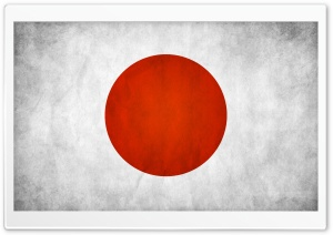 Japanese Flag HD Wide Wallpaper for Widescreen