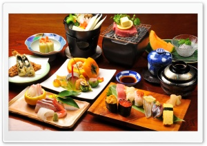 Japanese Food HD Wide Wallpaper for 4K UHD Widescreen desktop & smartphone