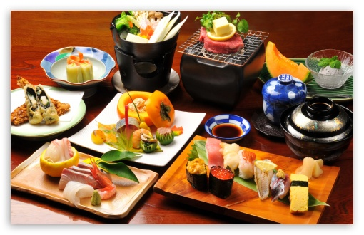 Japanese Food HD wallpaper for Wide 16:10 5:3 Widescreen WHXGA WQXGA WUXGA WXGA WGA ; Standard 3:2 Fullscreen DVGA HVGA HQVGA devices ( Apple PowerBook G4 iPhone 4 3G 3GS iPod Touch ) ; Mobile 5:3 3:2 16:9 - WGA DVGA HVGA HQVGA devices ( Apple PowerBook G4 iPhone 4 3G 3GS iPod Touch ) WQHD QWXGA 1080p 900p 720p QHD nHD ;