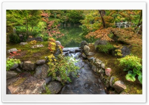 Japanese Garden HD Wide Wallpaper for 4K UHD Widescreen desktop & smartphone