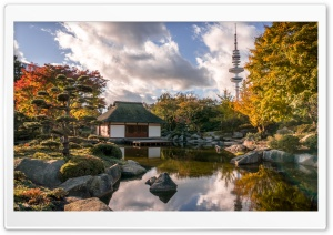 Japanese Garden HDR Ultra HD Wallpaper for 4K UHD Widescreen desktop, tablet & smartphone