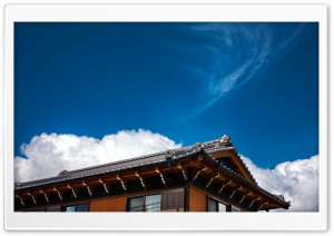 Japanese House HD Wide Wallpaper for 4K UHD Widescreen desktop & smartphone