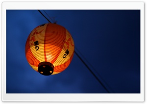 Japanese Lantern HD Wide Wallpaper for Widescreen