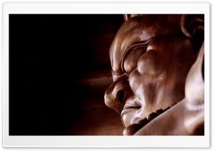 Japanese Sculpture HD Wide Wallpaper for Widescreen