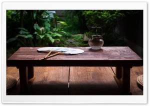 Japanese Table HD Wide Wallpaper for Widescreen
