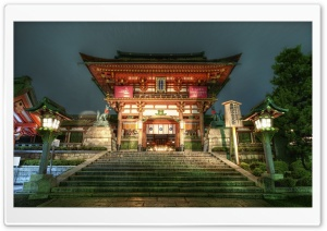 Japanese Temple HD Wide Wallpaper for 4K UHD Widescreen desktop & smartphone