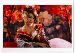 Japanese Woman Ultra HD Wallpaper for 4K UHD Widescreen desktop, tablet & smartphone