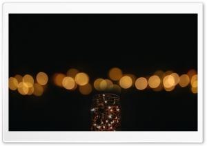Jar of Lights Ultra HD Wallpaper for 4K UHD Widescreen desktop, tablet & smartphone