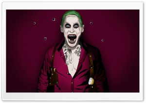 Jared Joker Leto HD Wide Wallpaper for Widescreen