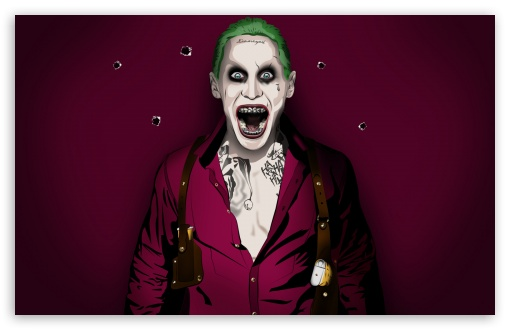 Jared Joker Leto Ultra Hd Desktop Background Wallpaper For 4k Uhd