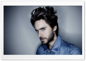 Jared Leto Hairstyle HD Wide Wallpaper for Widescreen