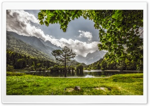 Jasna Lake, Slovenia HD Wide Wallpaper for Widescreen