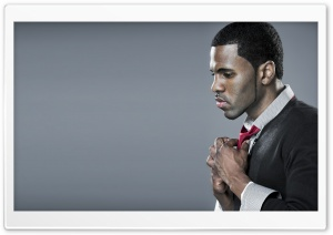 Jason Derulo Red Tie HD Wide Wallpaper for Widescreen