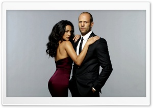 Jason Statham And Natalie Martinez HD Wide Wallpaper for 4K UHD Widescreen desktop & smartphone