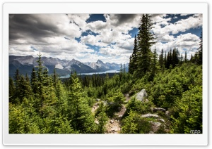 Jasper National Park, Canada HD Wide Wallpaper for Widescreen