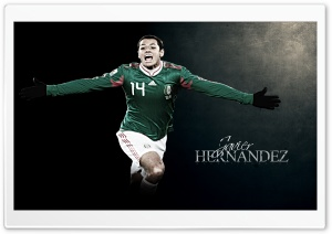 Javier Chicharito Hernandez HD Wide Wallpaper for Widescreen