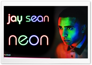 Jay Sean - Neon HD Wide Wallpaper for Widescreen