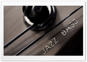 Jazz Bass HD Wide Wallpaper for Widescreen