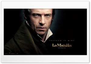 Jean Valjean - Les Miserables 2012 HD Wide Wallpaper for Widescreen