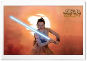 Jedi Rey HD Wide Wallpaper for Widescreen