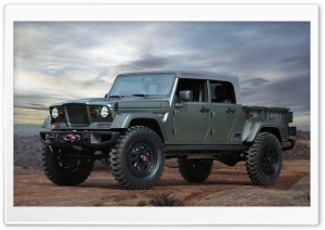 Jeep Crew Chief 715 concept 2016