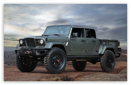 Download Jeep Crew Chief 715 concept 2016 HD Wallpaper