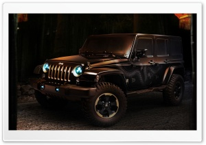 Jeep Wrangler Concept Car HD Wide Wallpaper for Widescreen