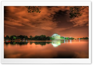 Jefferson Memorial HD Wide Wallpaper for Widescreen