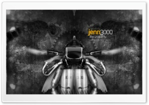 Jenn The Robot Fly HD Wide Wallpaper for 4K UHD Widescreen desktop & smartphone