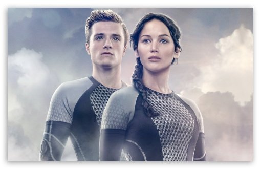 Jennifer Lawrence as Katniss Everdeen and Josh Hutcherson as Peeta Mellark HD wallpaper for Wide 16:10 5:3 Widescreen WHXGA WQXGA WUXGA WXGA WGA ; HD 16:9 High Definition WQHD QWXGA 1080p 900p 720p QHD nHD ; Standard 4:3 5:4 3:2 Fullscreen UXGA XGA SVGA QSXGA SXGA DVGA HVGA HQVGA devices ( Apple PowerBook G4 iPhone 4 3G 3GS iPod Touch ) ; Tablet 1:1 ; iPad 1/2/Mini ; Mobile 4:3 5:3 3:2 16:9 5:4 - UXGA XGA SVGA WGA DVGA HVGA HQVGA devices ( Apple PowerBook G4 iPhone 4 3G 3GS iPod Touch ) WQHD QWXGA 1080p 900p 720p QHD nHD QSXGA SXGA ; Dual 4:3 5:4 UXGA XGA SVGA QSXGA SXGA ;