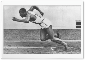 Jesse Owens HD Wide Wallpaper for Widescreen