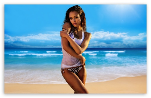 Jessica Alba On The Beach ❤ 4K UHD Wallpaper for Wide 16:10 5:3 Widescreen WHXGA WQXGA WUXGA WXGA WGA ; Standard 4:3 5:4 3:2 Fullscreen UXGA XGA SVGA QSXGA SXGA DVGA HVGA HQVGA ( Apple PowerBook G4 iPhone 4 3G 3GS iPod Touch ) ; Tablet 1:1 ; iPad 1/2/Mini ; Mobile 4:3 5:3 3:2 5:4 - UXGA XGA SVGA WGA DVGA HVGA HQVGA ( Apple PowerBook G4 iPhone 4 3G 3GS iPod Touch ) QSXGA SXGA ;